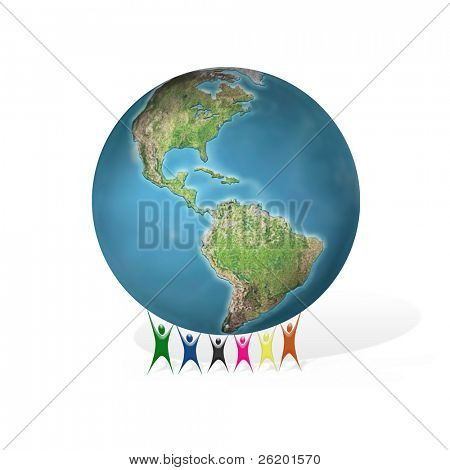 Global peace support concept