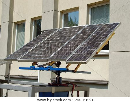 Solar cell panels