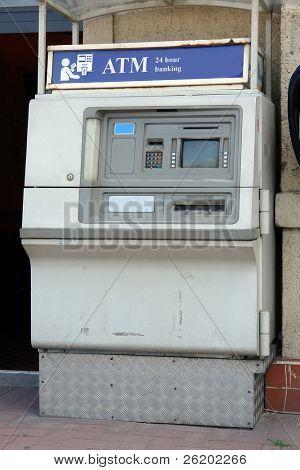 alte externe Automated Teller machine