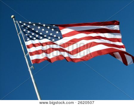 Beautiful American Flag