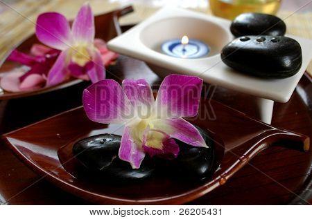 Aromatherapy still life