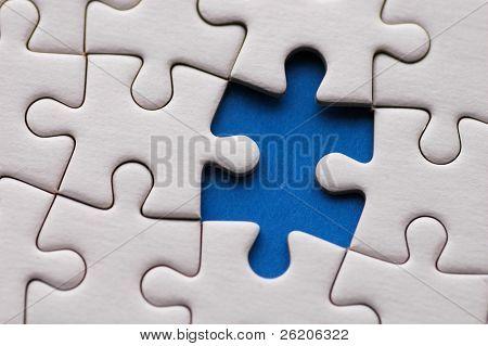 Puzzle close-up