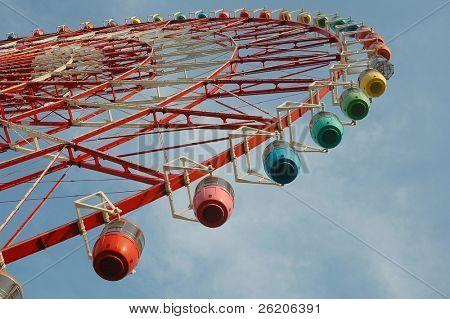 Giant Ferris Wheel in Odaiba, Tokyo