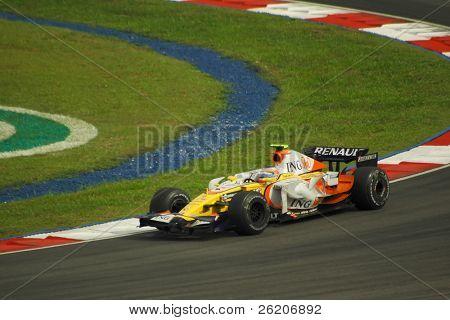 Fernando Alonso en la F1 Malasia 2008