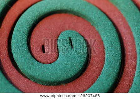 Mosquito coil background