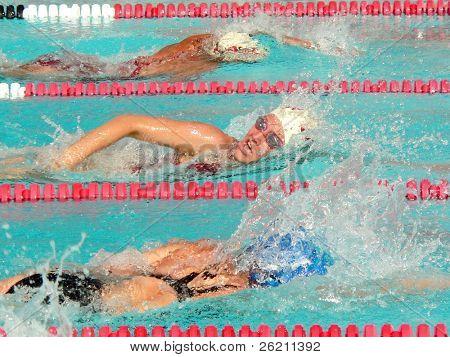 Mädchen Schwimmen Liga Finale