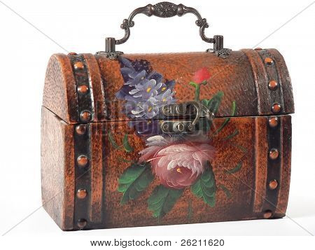 Floral Lunchbox (centered closeup)
