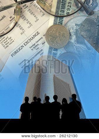Finanzen-Team-Sitzung