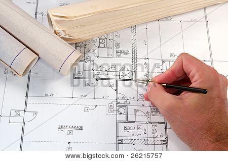 Architekturentwürfe neue Häuser und Gemeinden