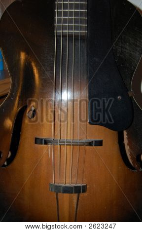 Antique Guitar Body Photo 2