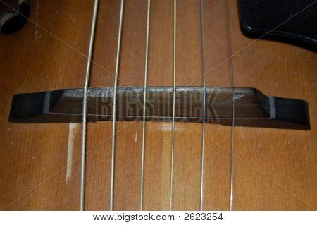 Antique Guitar Photo