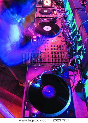 Equipo de música de DJ