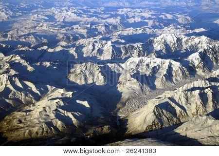 Luftbild von alaska