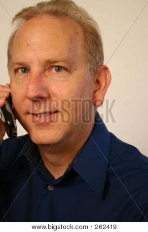 Talking On Cell Phone