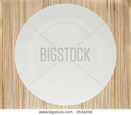 Place Mat And Plate