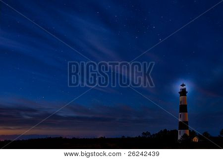 Bodie Island Lighthouse At Dawn