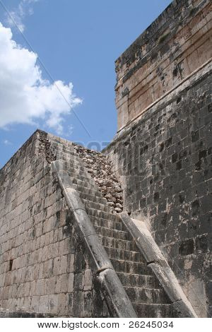 Steps at Chichen Itza