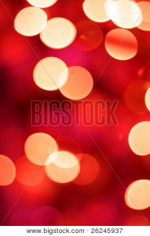glowing Christmas light background