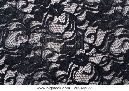 black lace background great for overlays and blends