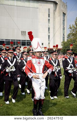 "Ohio State University's band "" the best damn band in the land"", TBDBITL"