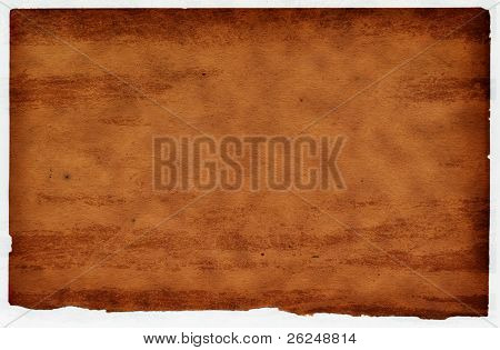 Grunge paper background that looks like leather