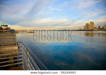 Bay between San Diego and Coronado California