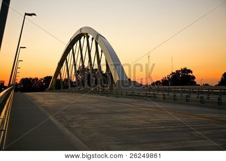 New Main Street Bridge over the Scioto River in Columbus, Ohio
