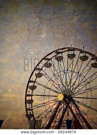Jahrgang Riesenrad an der Ohio State fair
