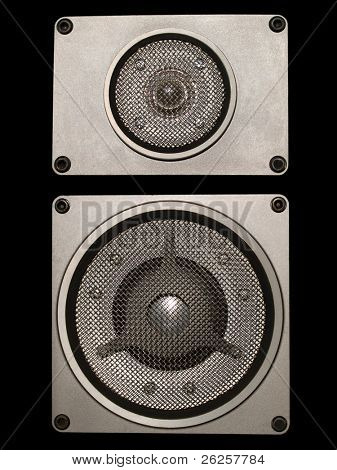 hi-fi audio speakers