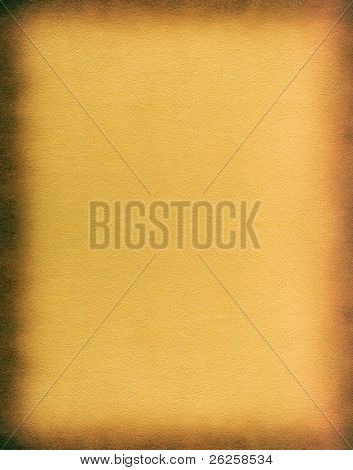 grungy burned leather framework background