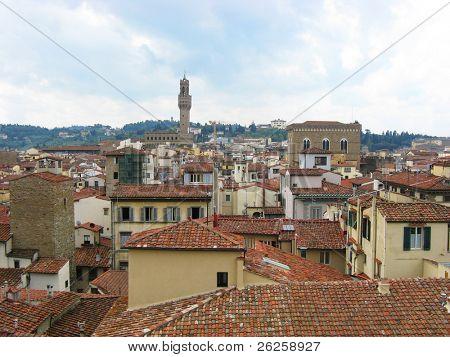 vista de la ciudad de Bolonia Italia