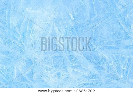 blue ice abstract natural background