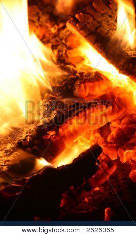 Ascuas de fuego