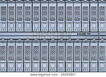 storage area network hard drives library