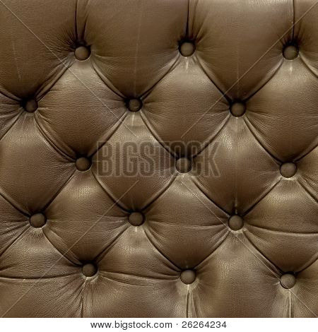 Leather Upholstery Texture Of The Old Couch