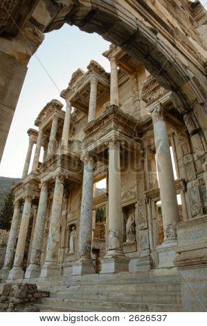 Roman Ruins At Ephesus