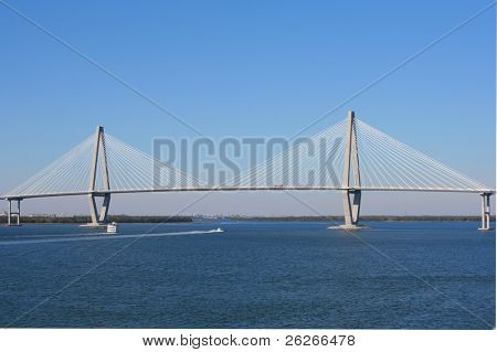 Arthur Ravenel Bridge in Charleston (also known as Cooper Bridge)