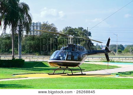 helicopter for sightseeing flight