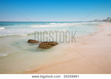 beach at Cancun, Mexico