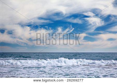 seelandschaft in Vina Del Mar, Chile