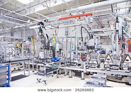 manufacturing parts for engine