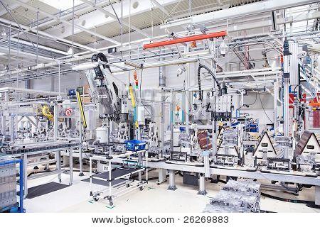 piezas de fabricación para el motor