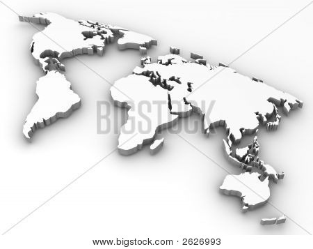 Map Of World.