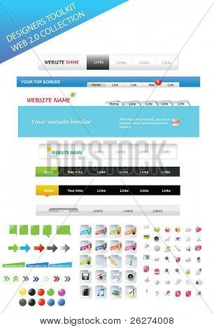 Designers toolkit - web 2.0 collection