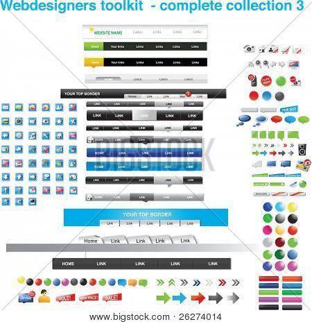 Webdesigners toolkit - complete collection 3