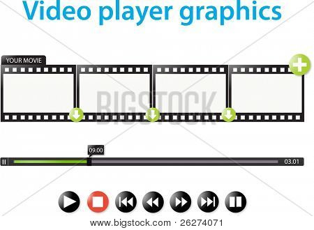 Video player graphics