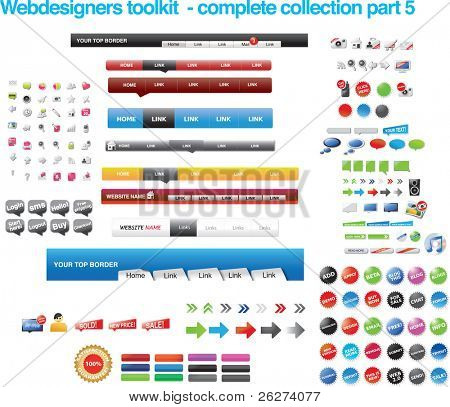 Webdesigners toolkit - complete collection part 5