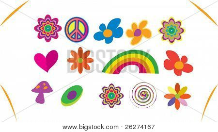 Hippie graphics