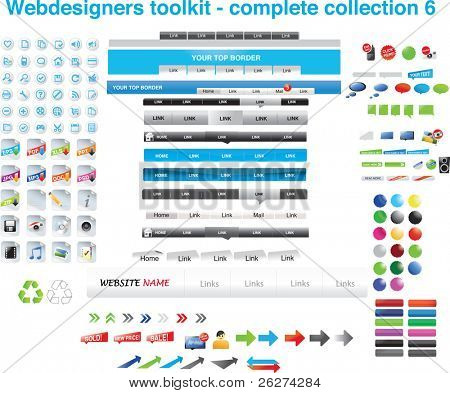 Web designers toolkit - complete collection 6