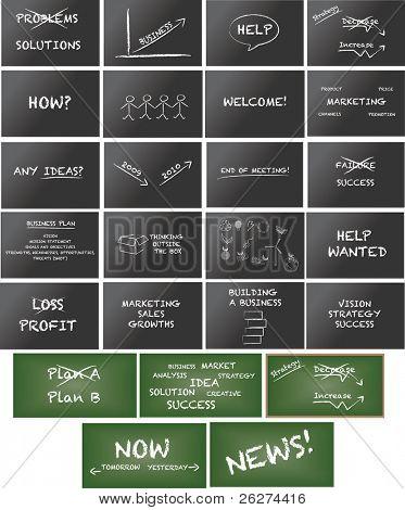 riesige Sammlung von Keynote Grafiken die complete collection